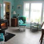 The woodstove & rocking chairs in the kitchen make it particularly cozy.