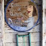 Another creation by my artist friend, Kathy Blake. EDEN By the Sea is most definitely our COLONY OF QUIET THE DREAMS